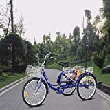 Goplus Adult Tricycle Trike Cruise Bike