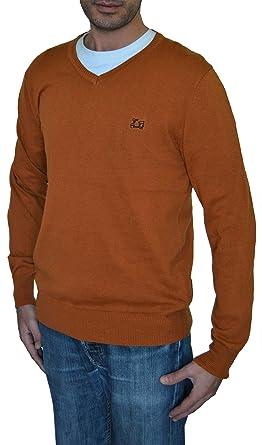 Ridebike Jersey Cuello de Pico Logo La Vespa | Color Mostaza | 100% algodón |