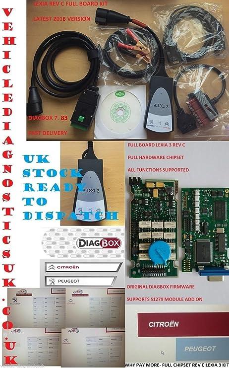 Lexia 3 Diagbox 19 7 Peugeot Citreon Diagnose Interface Elektronik