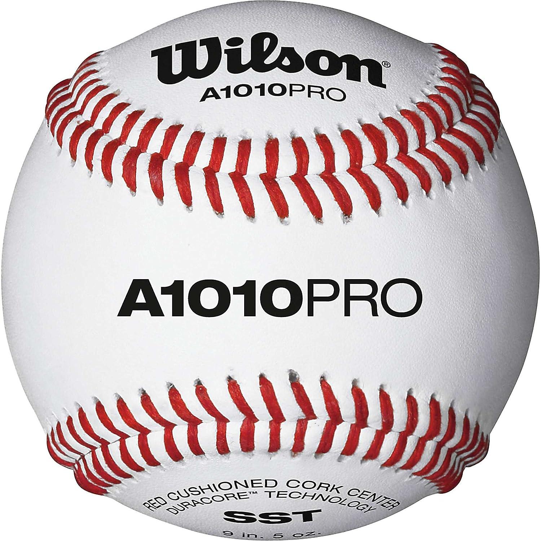 amazon com wilson collegiate and high play baseballs 1