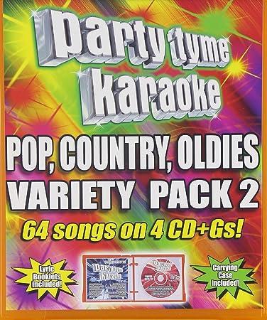 Variety Pack 2: Party Tyme Karaoke: Amazon.es: Música