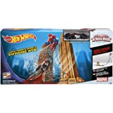 Marvel HOT WHEELS Ultimate Spider-Man Web Swing Drop-Out Play Set
