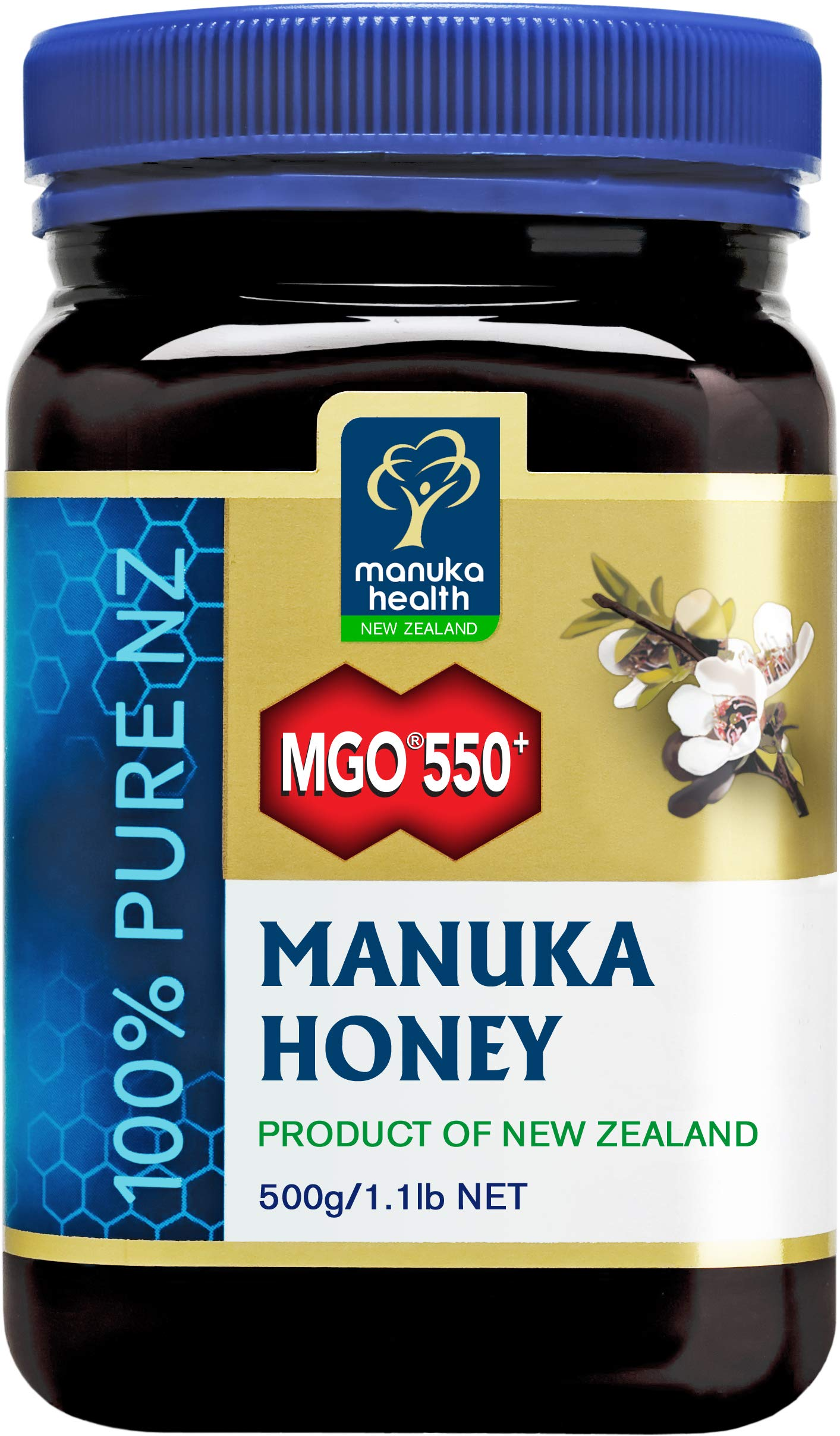 Manuka Health - MGO 550+ Manuka Honey, 500g