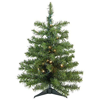 Darice 3' Battery Operated Pre-Lit LED Pine Artificial Christmas Tree -  Clear Lights - Amazon.com: Darice 3' Battery Operated Pre-Lit LED Pine Artificial