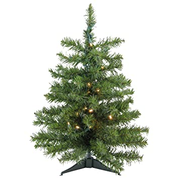 Image Unavailable. Image not available for. Color: Darice 3' Battery  Operated Pre-Lit LED Pine Artificial Christmas Tree ... - Amazon.com: Darice 3' Battery Operated Pre-Lit LED Pine Artificial