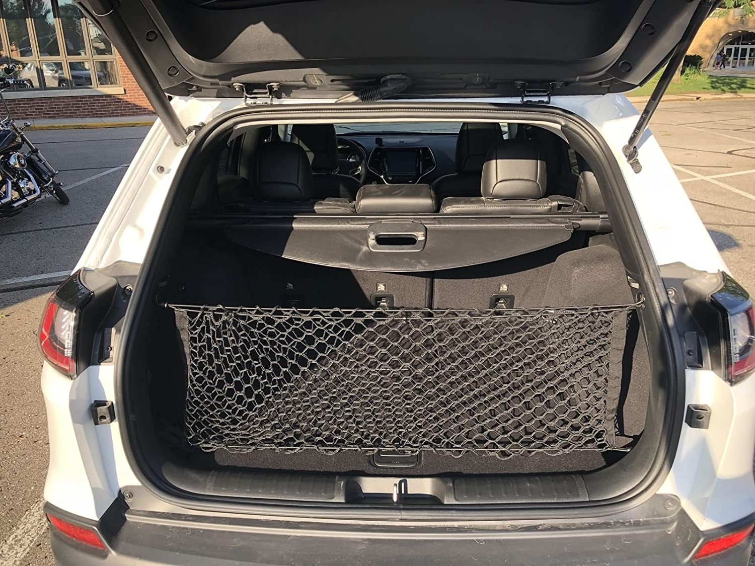 Envelope Style Trunk Cargo Net For JEEP CHEROKEE 2019 NEW Trunknets Inc
