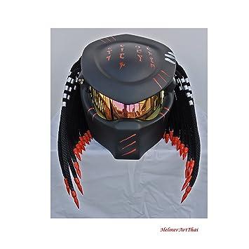 HAT 106 - Casco con diseño de «Depredador», talla XXL (63-