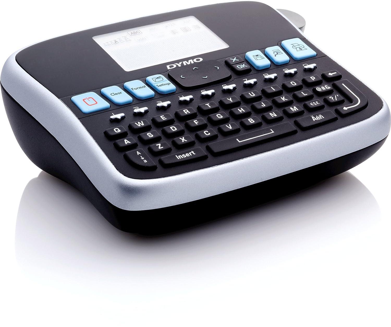 DYMO LabelManager 360D - Impresora de etiquetas (180 x 180 DPI/térmica directa/12 mm/seg/patalla LCD/9 etiquetas/197 x 150 x 71 mm/teclado QWERTY)/color ...