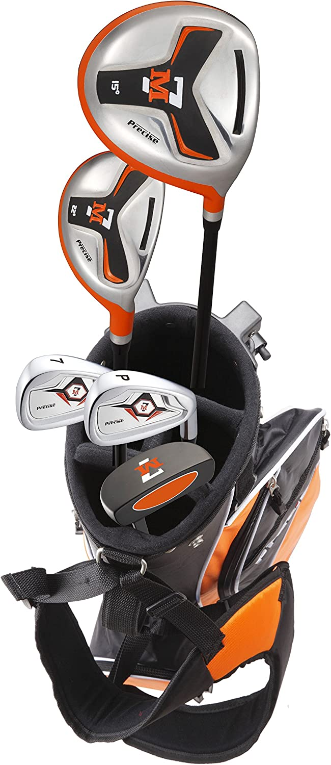 Precise M7 Junior Complete Golf Club Set for Children Kids - 3 Age Groups - Right Hand