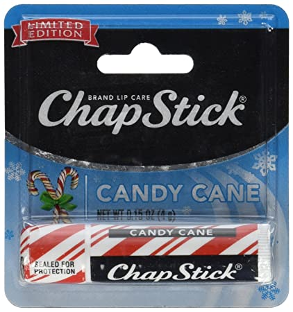 ChapStick Candy Cane, 0.15oz Pack of 12