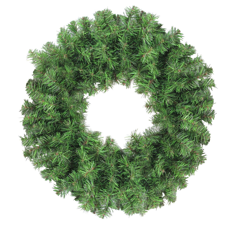 Northlight Colorado Spruce 2-Tone Artificial X-Mas Wreath, Green