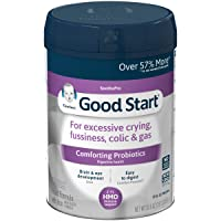Gerber Good Start Soothe Non-GMO Powder Infant Formula, Stage 1, With Iron, 2'-FL HMO and Probiotics for Colic, Digestive Health and Immune System Support, 30.6 Ounce