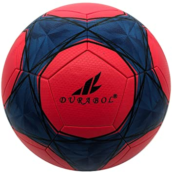 Durabol Balón de Fútbol Entrenamiento Talla 5 (ROJO 4): Amazon.es ...