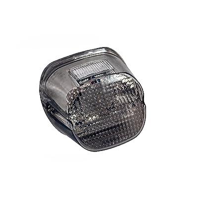 Smoke Lens OZ-USA Tail Brake LED Light Harley Davidson Motorcycle Stop Lamp Xl FLH FX: Automotive