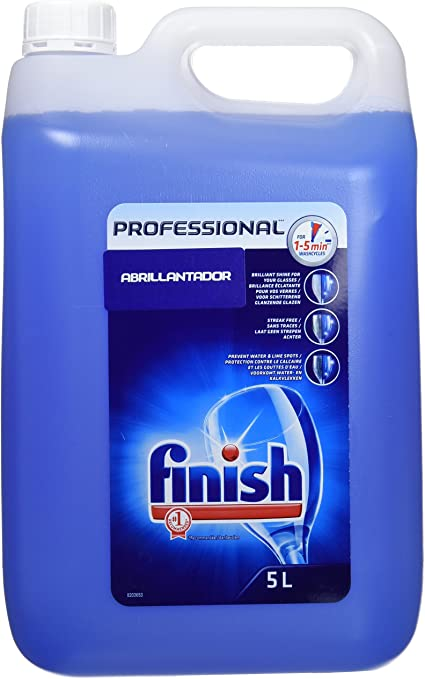 Finish Lavavajillas Abrillantador Professional - 5 L: Amazon.es ...