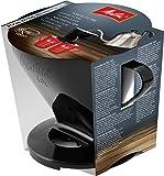 Melitta Kaffeehalter für Filtertüten, Kaffeefilter 1x4 Standard, Kunststoff, Schwarz, 217564