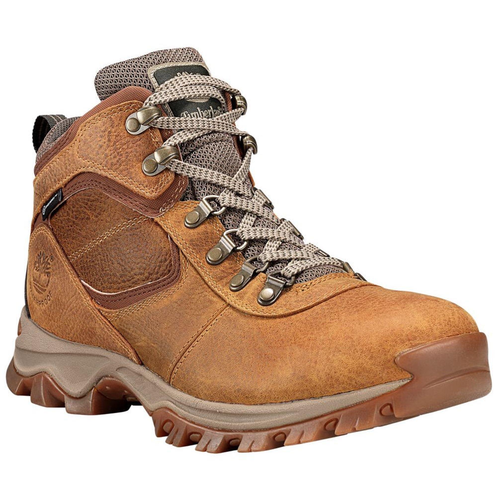 Timberland Mt. Maddsen Mid Waterproof Hiking Boot - Men's Light Brown Full Grain, 10.0 by Timberland