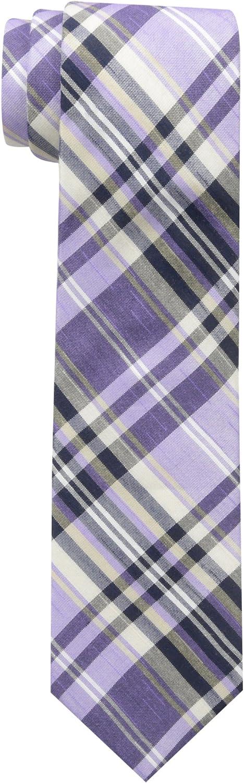 Ben Sherman mens Burton Plaid Tie Necktie