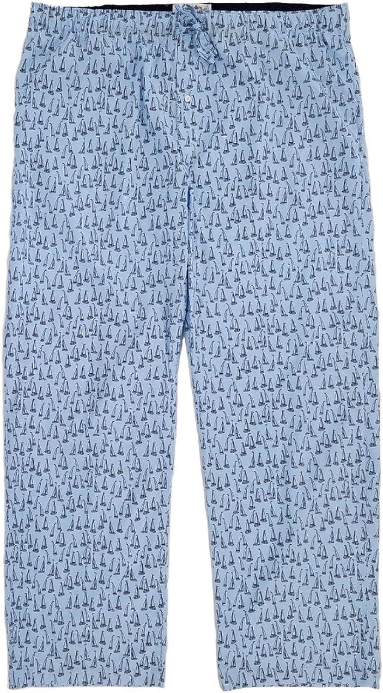 Mey 23550 Mens Yacht Blue PJ Short XXLarge