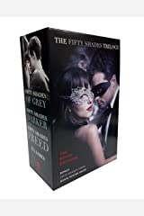 Fifty Shades Trilogy: The Movie Tie-In Editions with Bonus Poster: Fifty Shades of Grey, Fifty Shades Darker, Fifty Shades Freed Paperback