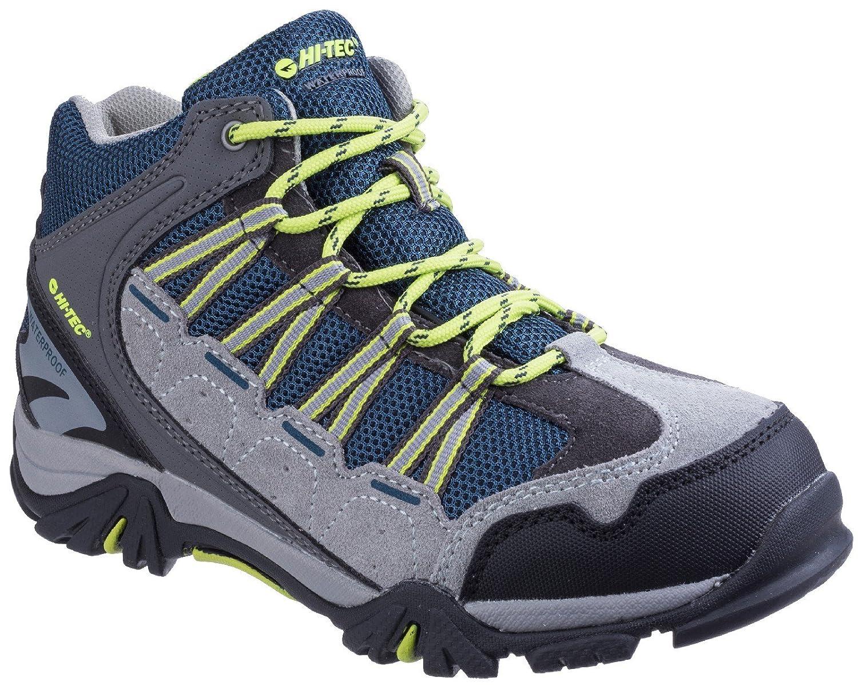 Hi-Tec Forza Mid WP Schuhes Junior Cool Grau/Majolica/Limoncello Schuhgröße UK J13 | 32 2018 Schuhe