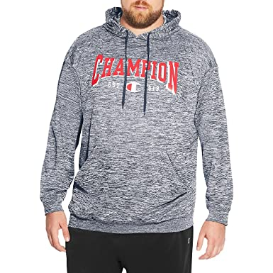 63bf2582a4 Champion Mens Big and Tall Performance French Terry Hoodie at Amazon Men's  Clothing store:
