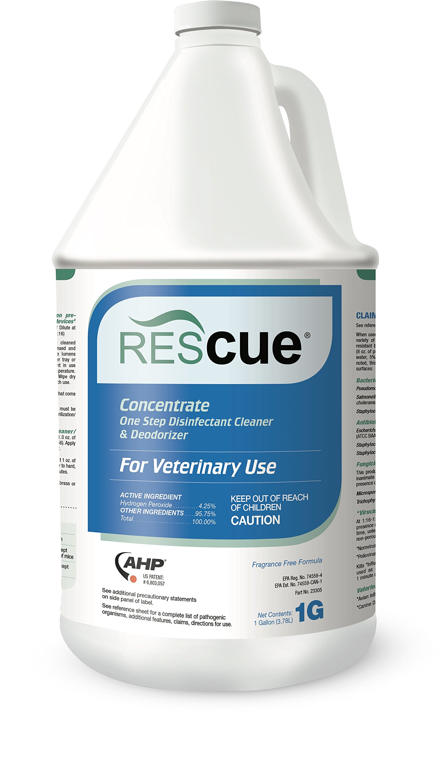 Rescue One-Step Disinfectant Cleaner & Deodorizer, Concentrate Bottle (1 Gallon)