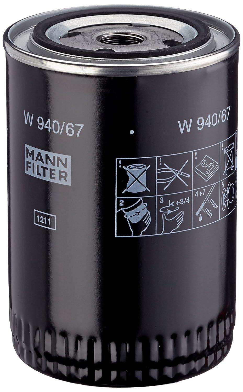Mann Filter W94067 Filtre à huile de graissage
