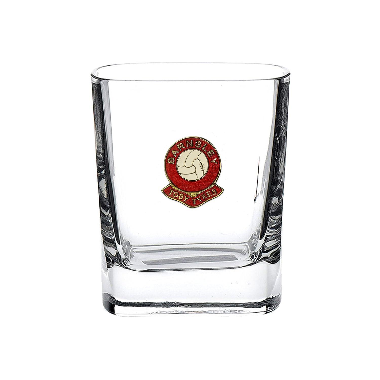 Barnsley football club mixer glass Knight