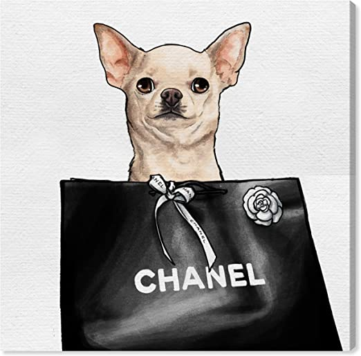 CHIHUAHUA CANVAS PRINT PICTURE WALL ART HOME DECOR FREE FAST DELIVERY
