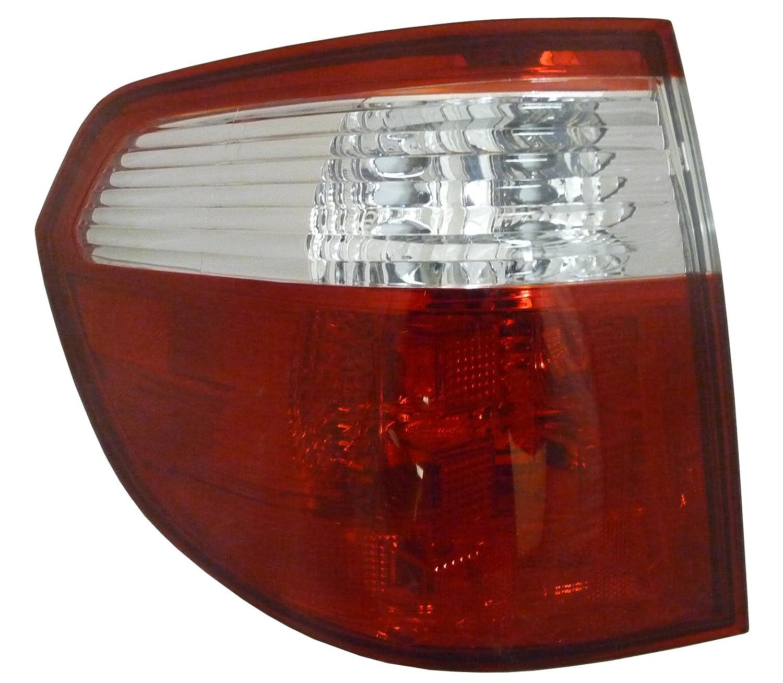 QP H1237-a Honda Odyssey Driver Tail Light Lens & Housing Aftermarket HO2818129