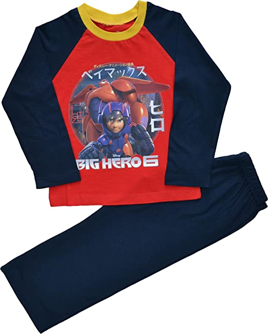 Boys Disney Big Hero 6 Pyjamas Sizes 3 to 10 Years