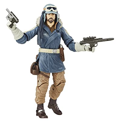 Star Wars The Black Series Rogue One Captain Cassian Andor: Toys & Games
