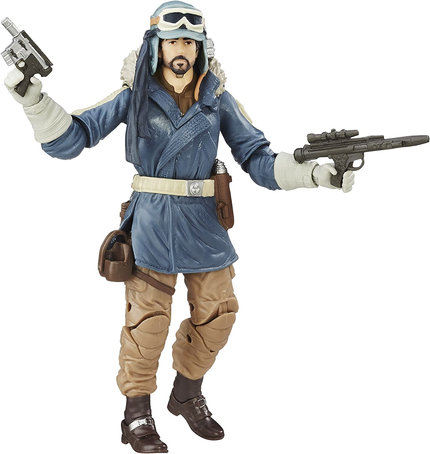 Details about  /Star Wars Black Series 6 Inch Rogue One Captain Cassian Andor Eadu #23