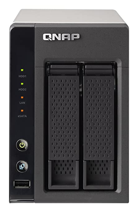 QNAP 2-Bay USB 2.0 Portable Turbo Network Attached Storage TS-219P+