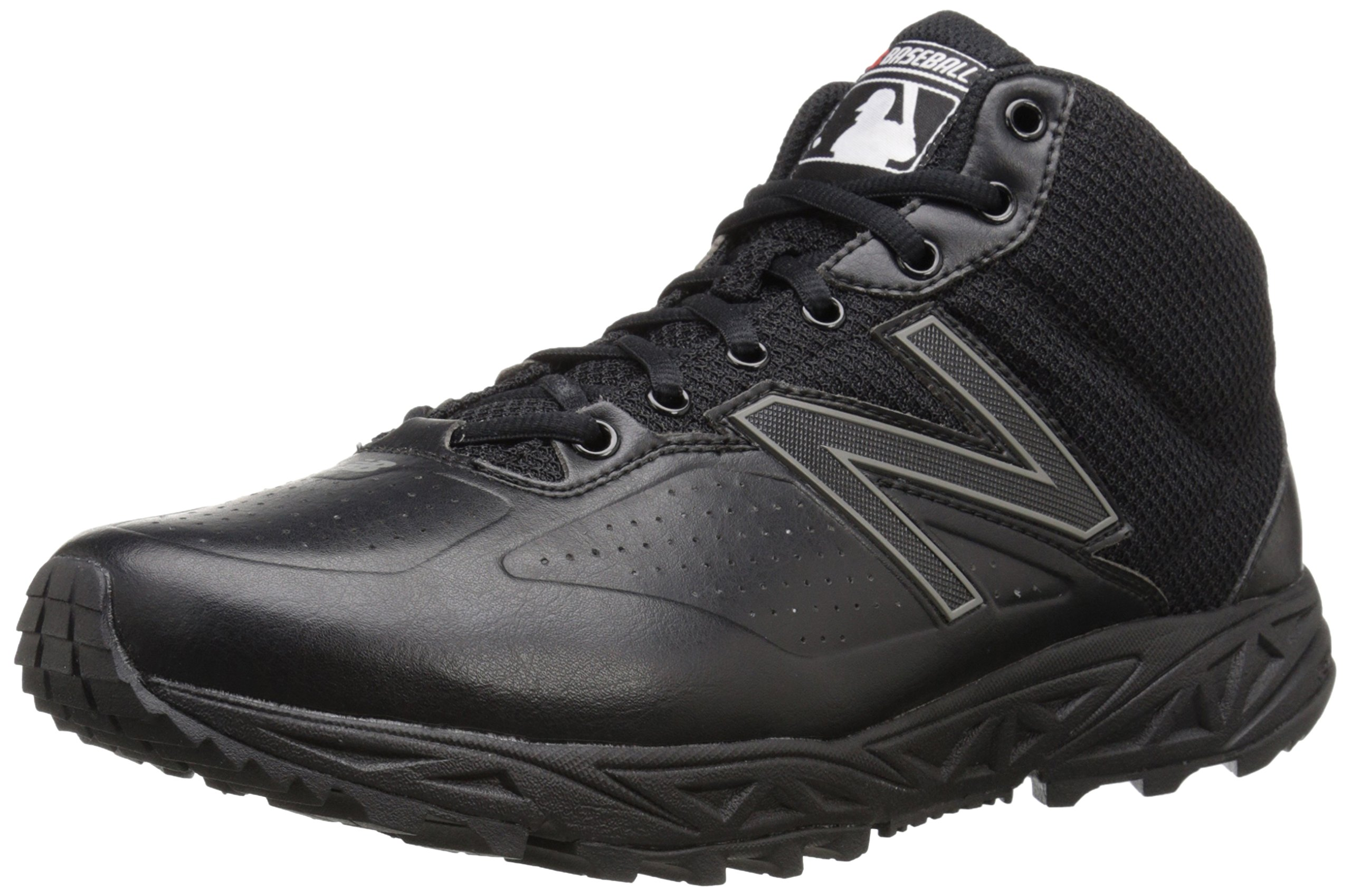 New Balance Men's MU950V2 Umpire Mid Shoe-M, Black, 7.5 2E US by New Balance