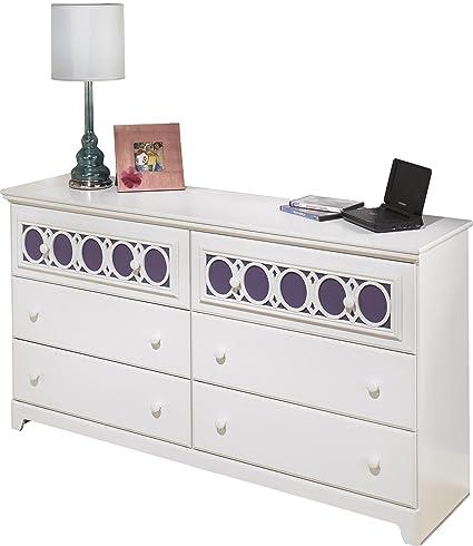 Ordinaire Ashley Furniture Signature Design   Zayley Dresser   6 Drawers   Engineered  Wood   White