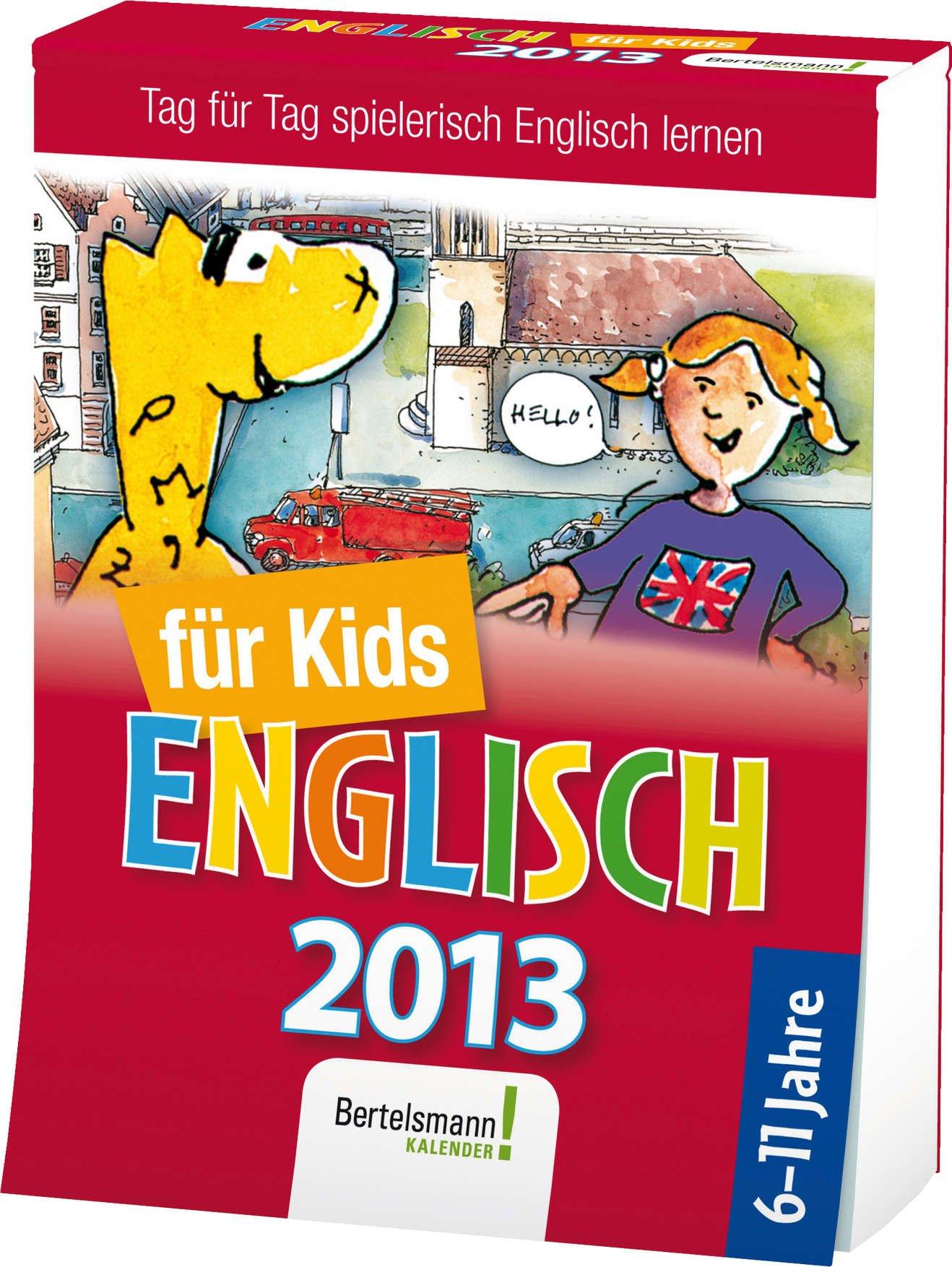 Sprachkalender Englisch für Kids 2013