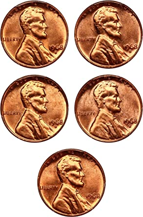 2010 P /& D Lincoln SHIELD Cent 2 Coin Set 1c PCGS MS66RD