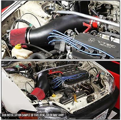 RED Filter For 93-97 Civic Del Sol S Si Vtec 1.6 1.5 SPORT RAM AIR INTAKE KIT