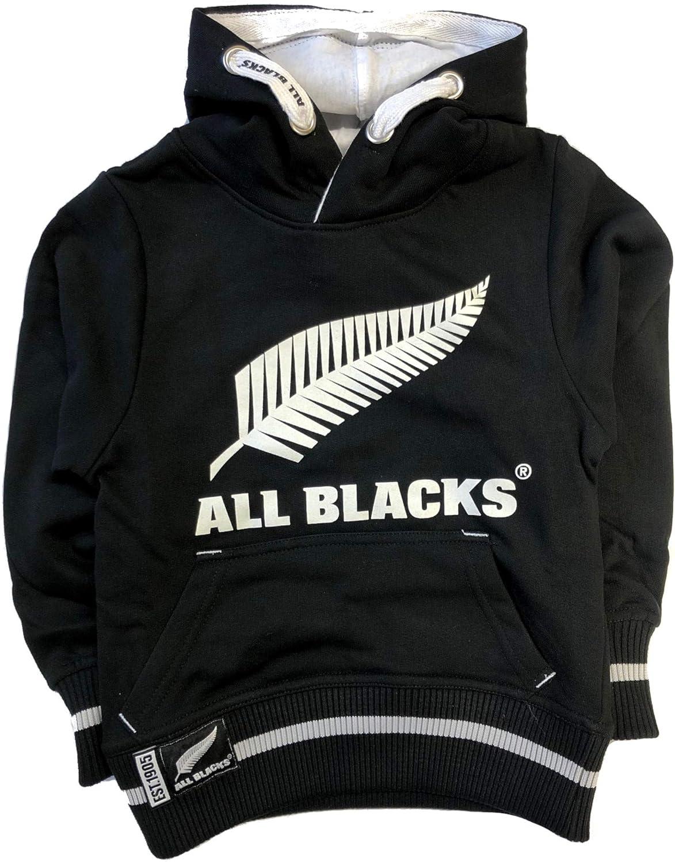 New Zealand All Blacks Kids Over Head HoodieBlack2019//20 Season