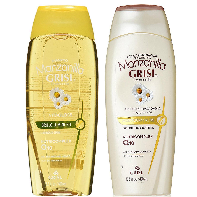 Manzanilla Shampoo Lightens Hair Before And After