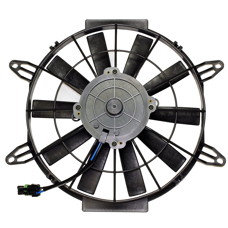 Caltric Radiator Cooling Fan Motor FITS POLARIS Sportsman 500 HO EFI 2004-2011