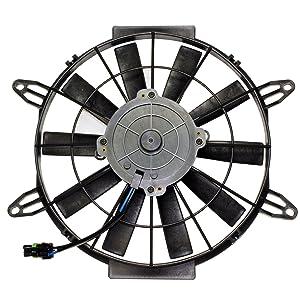 Caltric Radiator Cooling Fan Motor for Polaris Sportsman 500 Ho Efi 2004-2011
