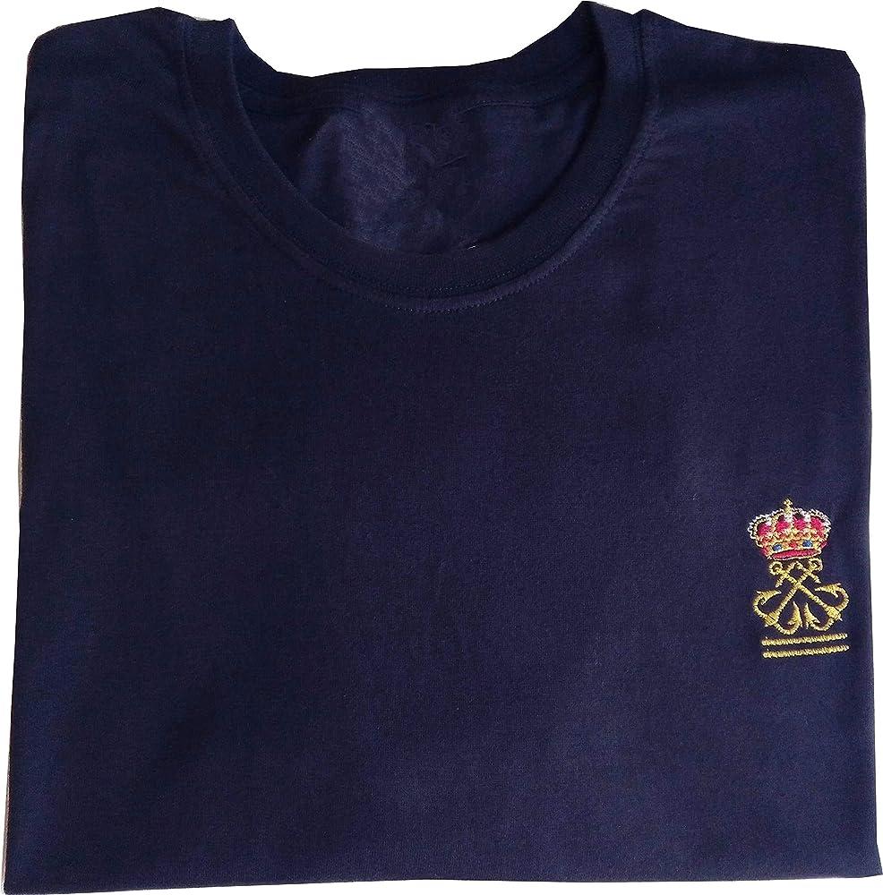 Camiseta Lisa Azul Marino Patrón de Yate (PY): Amazon.es: Ropa y ...