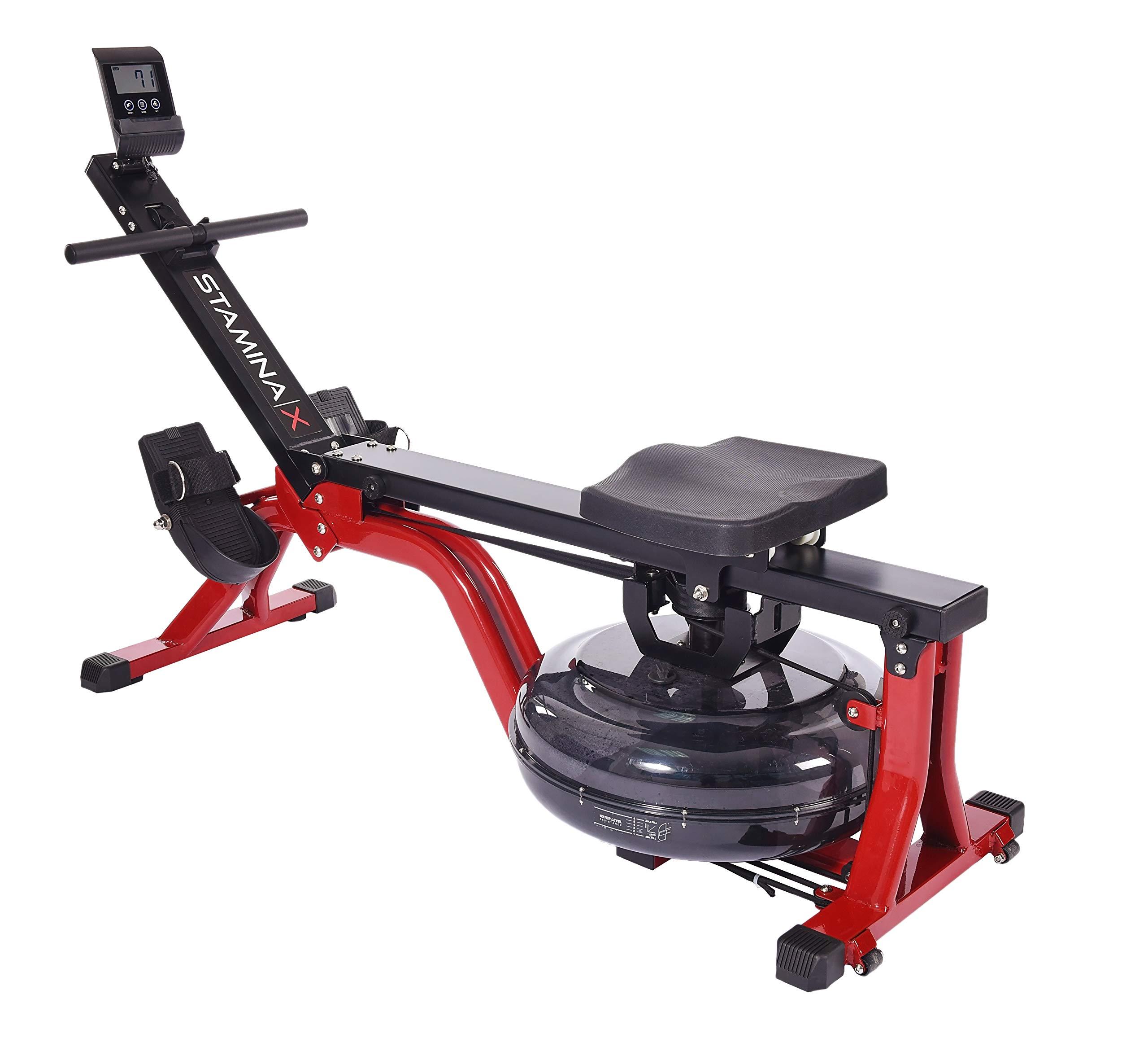 Stamina   X Water Rower, Black/Red by Stamina   X