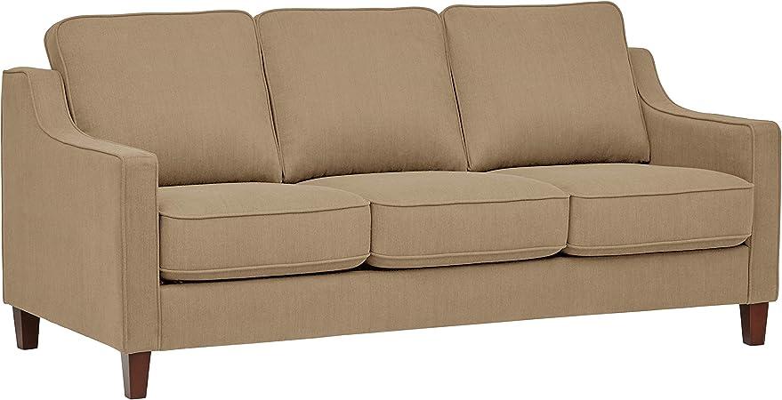 Stone & Beam Blaine Modern Sofa Bed - 78 Inch, Beige
