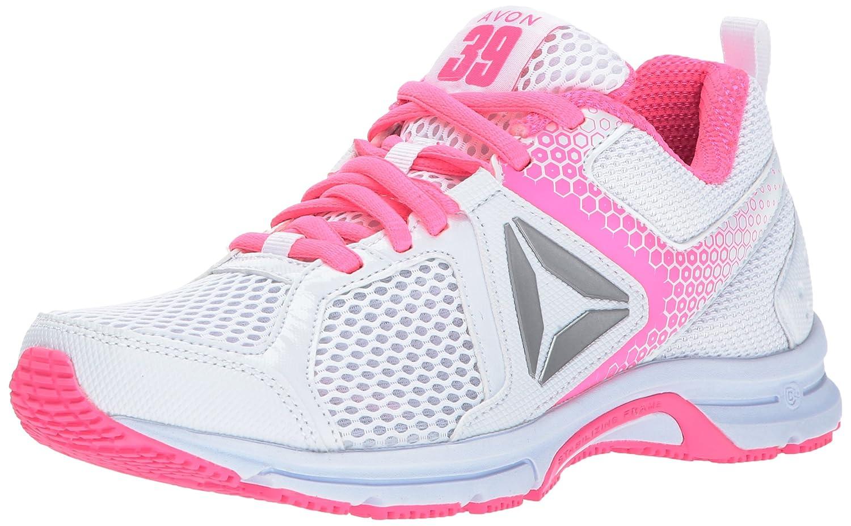 Reebok Women's Runner 2.0 MT Track Shoe B01NBKDOVF 6.5 B(M) US White/Poison Pink/Silver/Pink Ribbon