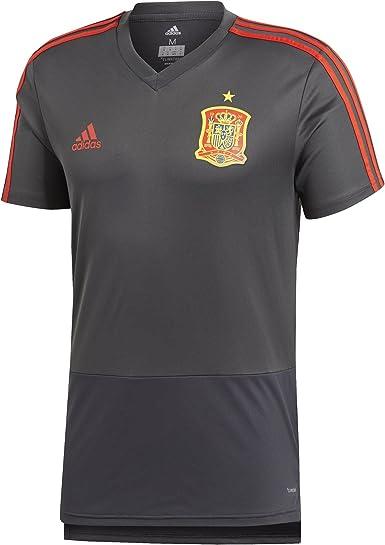 adidas Fef TR JSY Camiseta de Entrenamiento Federación Española de Fútbol, Hombre: Amazon.es: Ropa y accesorios