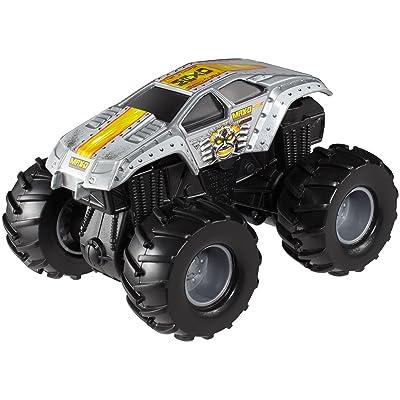Hot Wheels Monster Jam Rev Tredz Max-D Die-Cast Vehicle: Toys & Games
